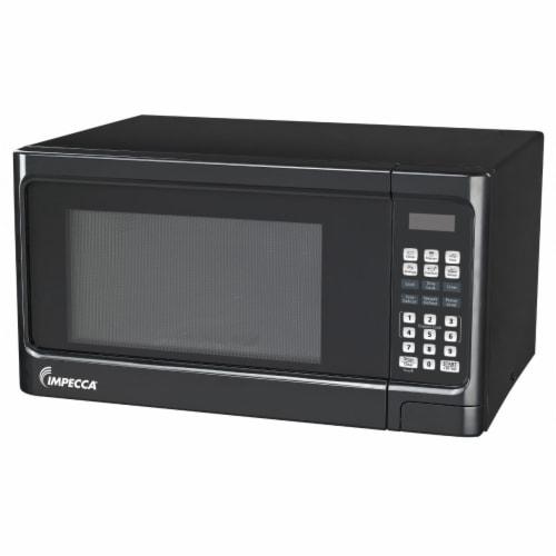 Impecca CM-1100K 1.1 cu. ft. Microwave Oven, Black Perspective: front