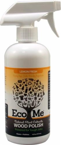 Eco-Me  Wood Polish Lemon Fresh Perspective: front