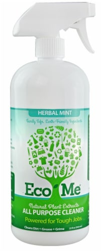 Eco-Me  All Purpose Cleaner Herbal Mint Perspective: front