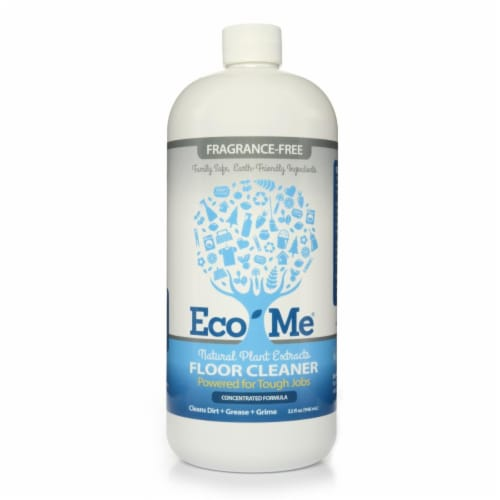 Eco-Me ECOM-FCFF32-06 32 oz Fragrance-Free Floor Cleaner, Perspective: front