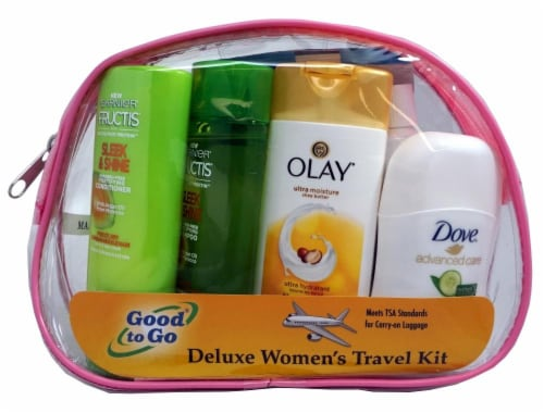 Good To Go Deluxe Women's Travel Kit Perspective: front