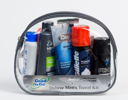 Good To Go Men's Deluxe Travel Kit Perspective: front