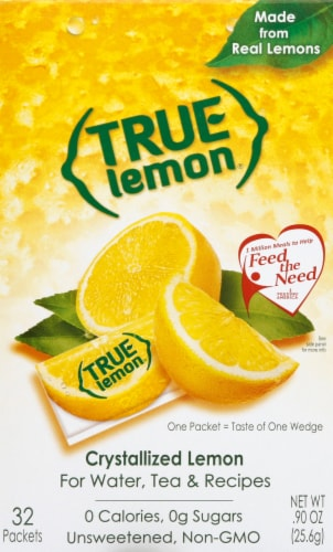 True Lemon Sweetener Perspective: front