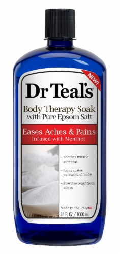 Dr Teals Body Therapy Soak Perspective: front
