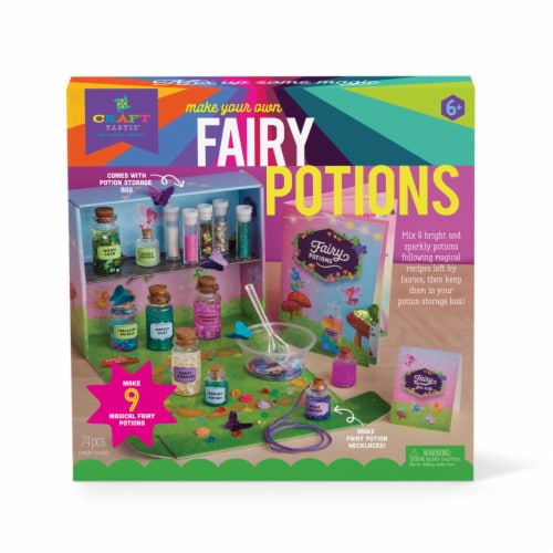 Craft-tastic Fairy Potion Kit Perspective: front