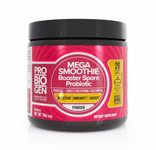 Probiogen® Mega Smoothie Booster Spore Probiotic Powder Perspective: front