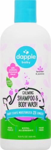 Dapple Baby Lavender & Jasmine Calming Shampoo & Body Wash Perspective: front