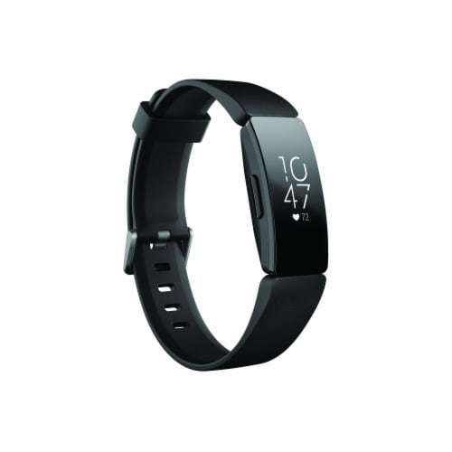 Fitbit Inspire Heart Rate Fitness Tracker - Black Perspective: front