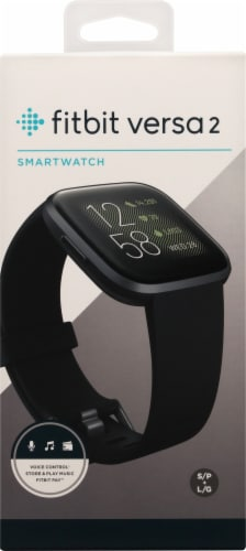 Fitbit Versa 2 Smart Watch Perspective: front