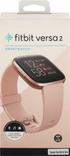 Fitbit Versa 2 - Petal Copper Rose Perspective: front