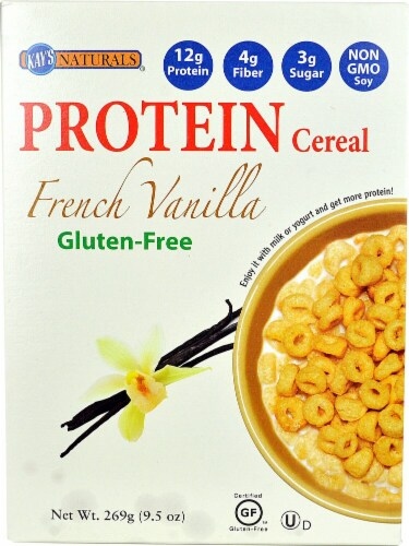 Kay's Naturals  Protein Cereal   French Vanilla Perspective: front