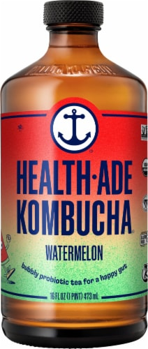 Health-Ade Watermelon Kombucha Perspective: front