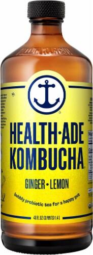 Health-Ade Ginger Lemon Kombucha Perspective: front