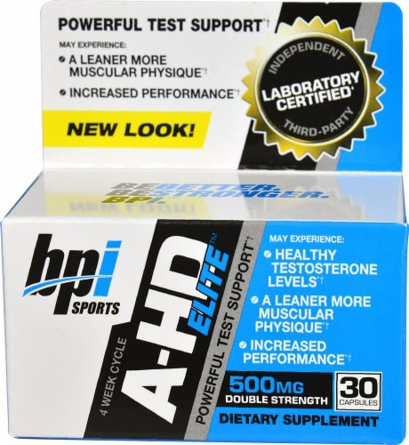 BPI  Sports A-HD Elite™ Perspective: front