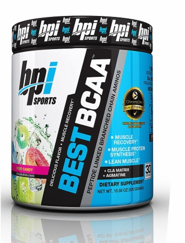 BPI  Sports Best BCAA™   Sour Candy Perspective: front