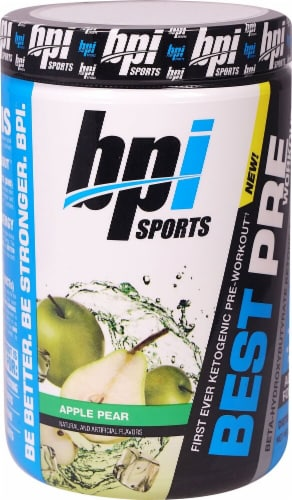 BPI  Sports Best Pre Workout™ Ketogenic   Apple Pear Perspective: front