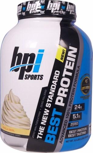 BPI  Sports Best Protein™   Vanilla Swirl Perspective: front