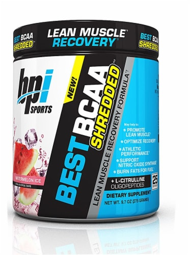 BPI  Sports BEST BCAA SHREDDED™   Watermelon Ice Perspective: front