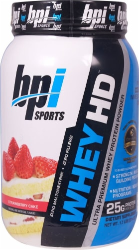 BPI  Sports Whey HD™   Strawberry Cake Perspective: front