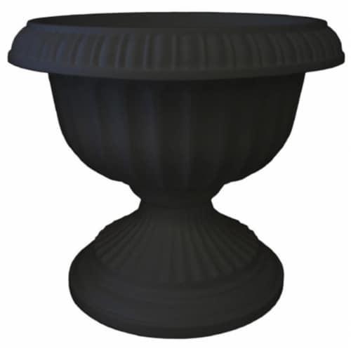Bloem 18in Grecian Urn Black GU18-00 Perspective: front