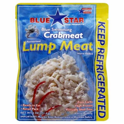 Blue Star Lump Crabmeat Perspective: front