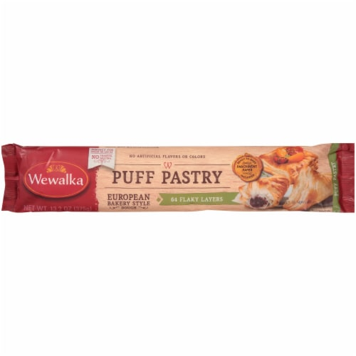 Wewalka Puff Pastry European Bakery Style Dough Perspective: front