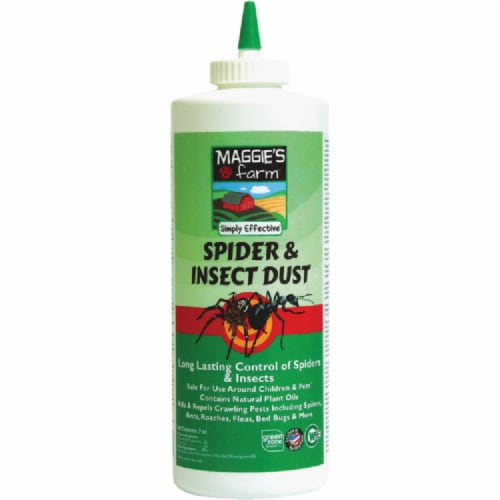 Maggie's Farm 7 Oz. Ready To Use Powder Spider & Insect Killer MSID007 Perspective: front