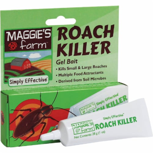 Maggie's Farm 1 Oz. Ready To Use Gel Ant & Roach Killer MRKG001 Perspective: front
