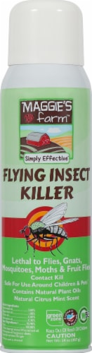 Maggie's Farm Aerosol Spray Flying Insect Killer Perspective: front