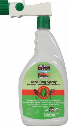 Maggie's Farm Yard Bug Spray Perspective: front