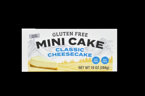 Yumbana Gluten Free Classic Cheesecake Mini Cake Perspective: front