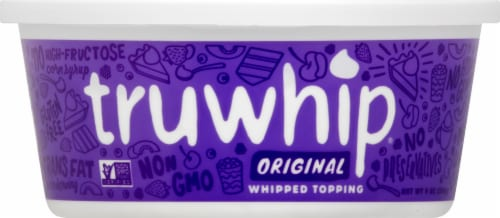 Truwhip Original All Natural Whipped Topping Perspective: front