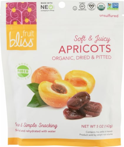 Fruit Bliss Organic Turkish Apricots Perspective: front