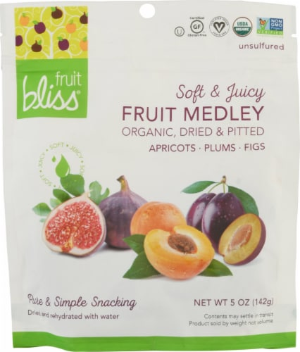 Fruit Bliss Organic Fruit Medley Perspective: front