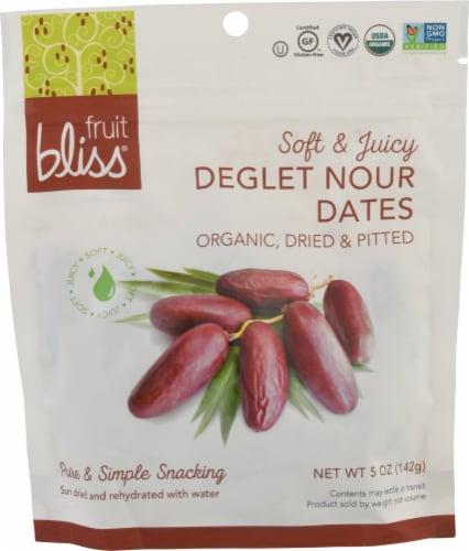 Fruit Bliss  Organic Deglet Nour Dates Perspective: front