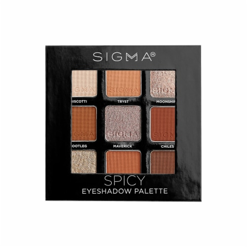 Spicy Eyeshadow Palette Perspective: front