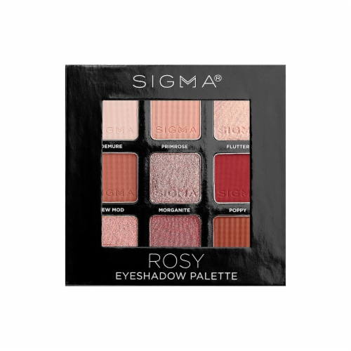 Rosy Eyeshadow Palette Perspective: front