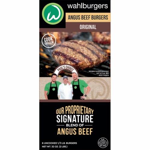 wahlburgers Original Angus Beef Burgers Perspective: front