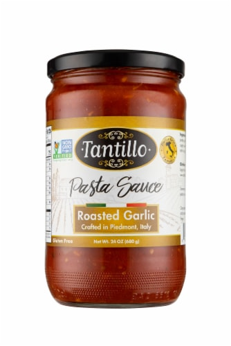 Tantillo Roasted Garlic Pasta Sauce Perspective: front