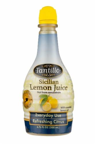 Tantillo Foods Sicilian Lemon Juice Perspective: front