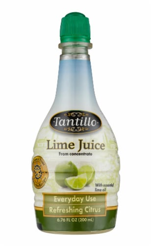 Tantillo Foods Lime Juice Perspective: front