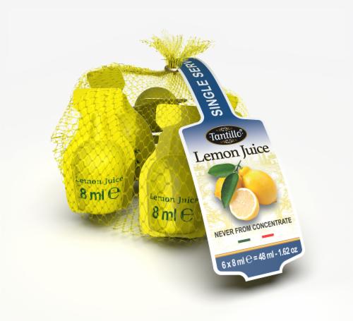 Tantillo Lemon Juice Single Serve Perspective: front