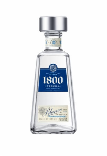 1800 Silver Tequila Perspective: front