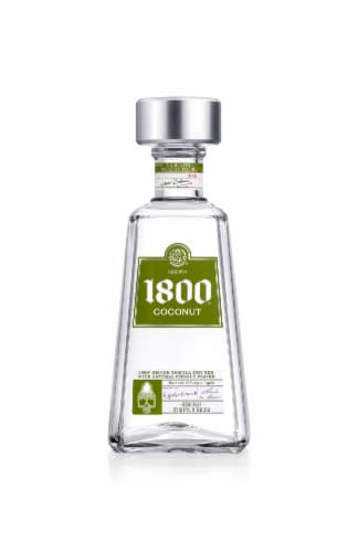1800 Coconut Reserva Tequila Perspective: front