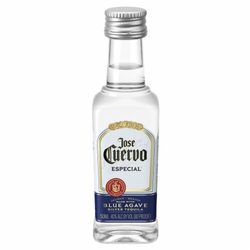 Jose Cuervo Especial Blue Agave Silver Tequila Perspective: front