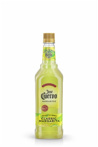 Jose Cuervo Authentic Classic Lime Ready to Drink Margarita Perspective: front
