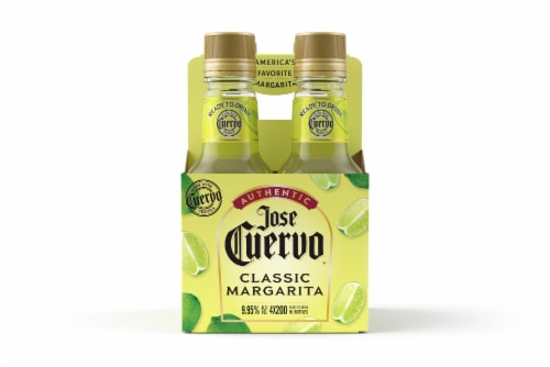 Jose Cuervo Authentic Classic Lime Ready To Drink Margarita Minis Perspective: front