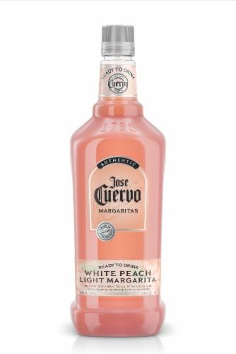 Jose Cuervo White Peach Margarita Mix Perspective: front