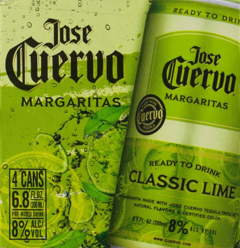 Jose Cuervo Lime Margaritas Perspective: front