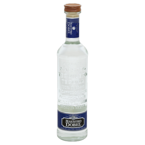 Maestro Dobel Silver Tequila Perspective: front